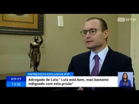 Mestre ZANIN denuncia a prisão de LULA na EUROPA.