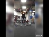 Тренировка на спину и плечи
