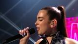 Dua Lipa zingt 'Be the One' Liveshow The Voice van Vlaanderen VTM