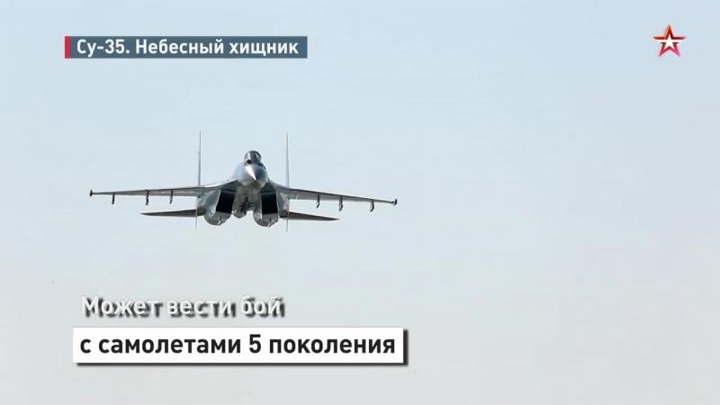 Небесный хищник_ новейший истребитель ВКС Су-35 за 60 секунд