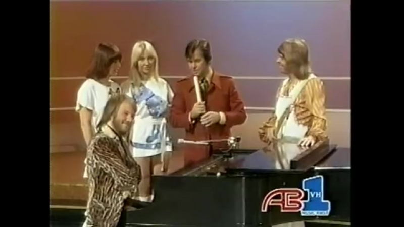 ABBA American Bandstand 1975