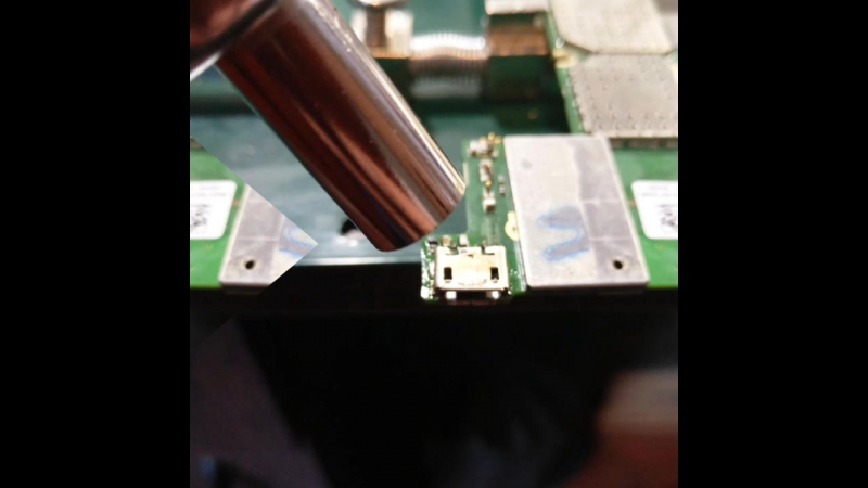 Замена micro usb Lumia rm-1030