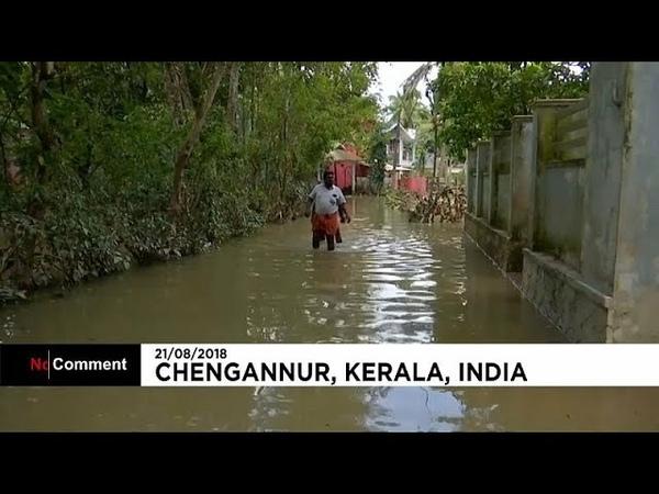 Наводнение в Керале улыбка сквозь слезы