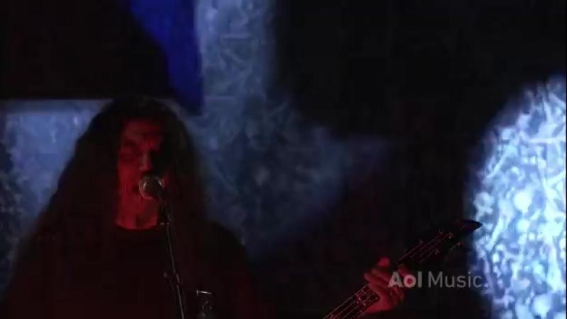 Slayer - Chemical Warfare Raining Blood (Live at AOL Sessions 2010)