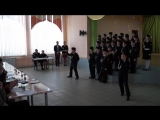 Кадетская школа Липецкой области (казачий взвод) Смотр патриотической песни