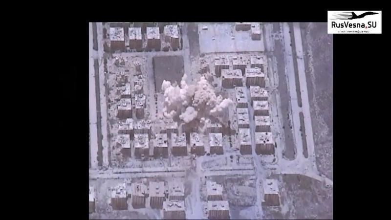 МОЛНИЯ Ад в Алеппо — звено Су-34 отомстило боевикам за атаки на город и пост военной полиции РФ