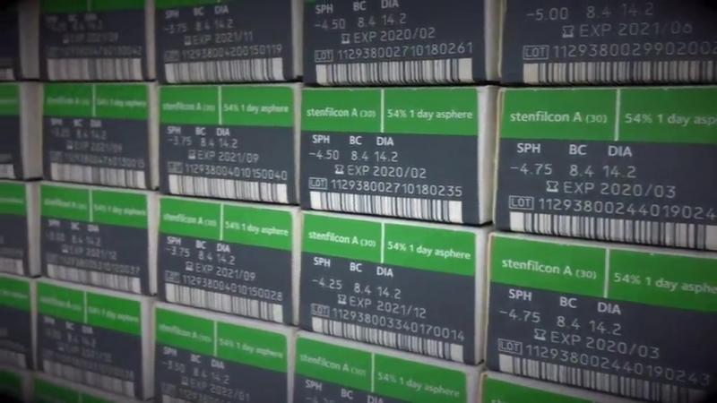 Подбор контактных линз в Оптик Сити смотреть онлайн без регистрации