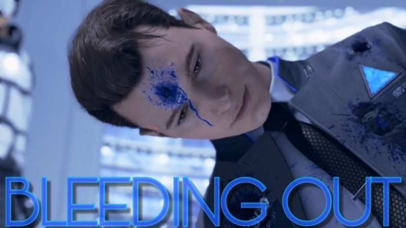 Detroit Become Human   Bleeding out