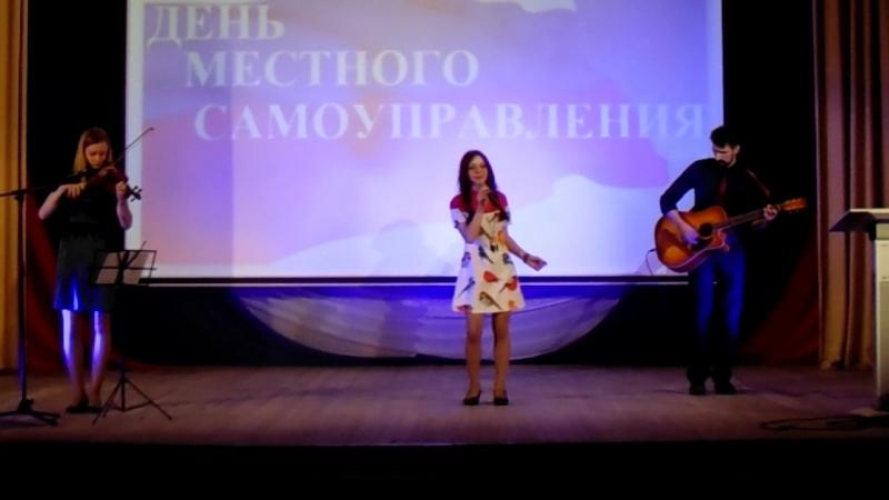 Анастасия Рыжкова. Песня о мире 26.04.2016