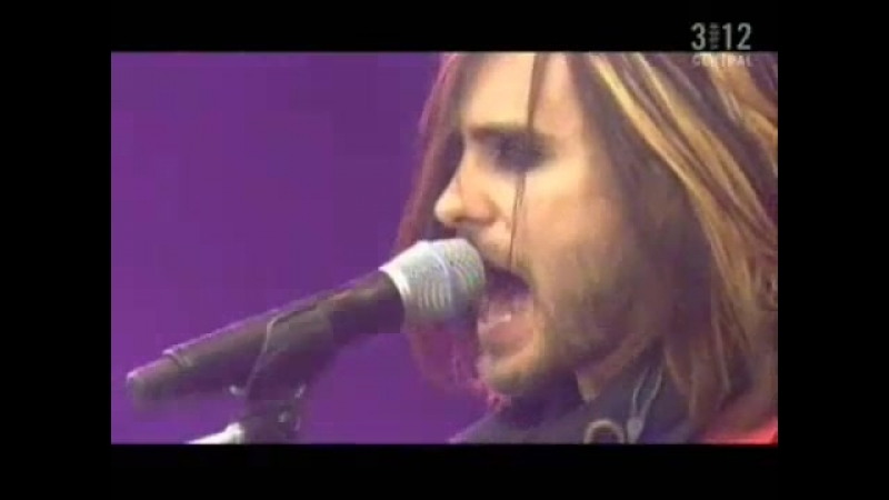 30 seconds to mars(4) from yesterday live