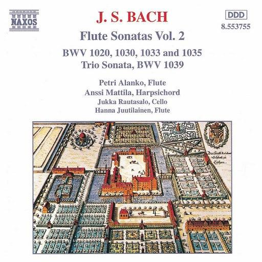 Petri Alanko альбом Bach, J.S.: Flute Sonatas, Vol. 2
