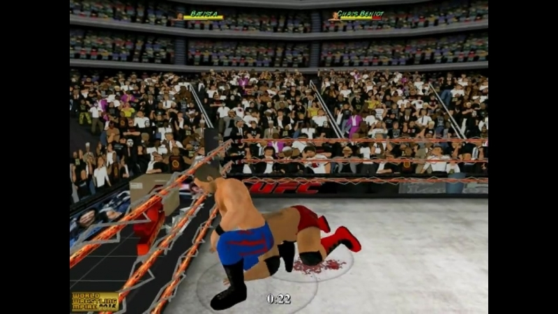 Batista vs Chris Benoit