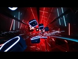 Beat Saber Through The Fire And Flames WORLD RECORD (2 Million Points!)