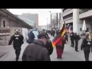Das ist unfassbar Polizei verbietet das zeigen der deutschen Fahne Dabei haben sie ein Eid auf der deutschen Fahne gele