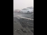 Major accident in Dubai because of fog 3