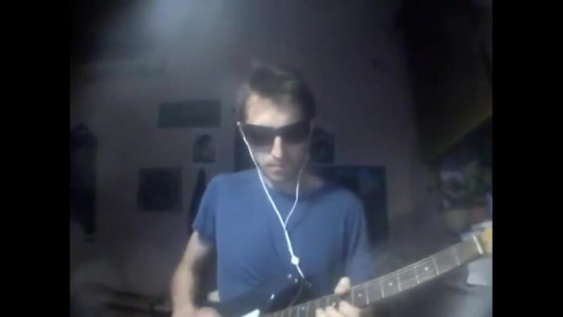 Небольшое соло в тональности A (поверх последовательности аккордов)