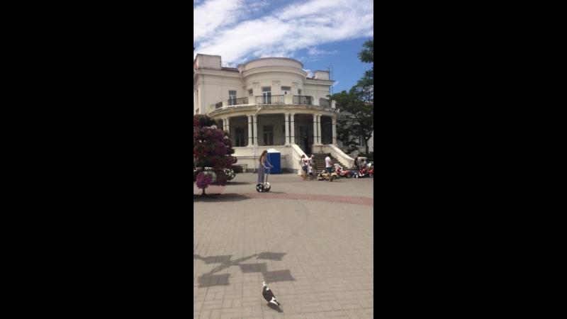 Катание на гироскутере Крым 16 июля 2018