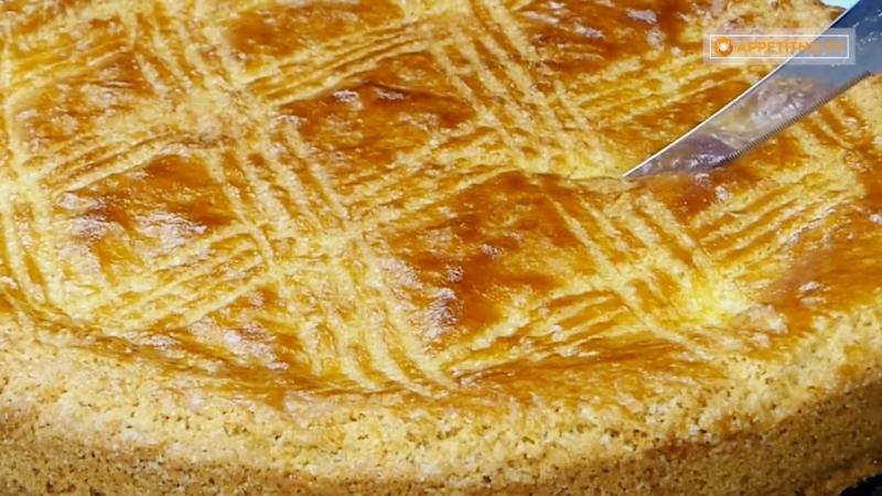 """Вкуснейшая испанская сладость! Интересное пирожное """"Баско"""" -Подпишитесь на нас - vk.comappetitno_tv"""