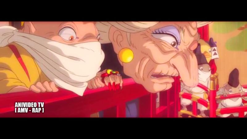 Аниме Реп про Тихиро Огино 'Унесенные Призраками' AMV Rap do Chihiro Spirited Away AMV