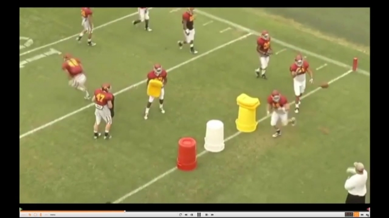 USC Running Back Football Drills