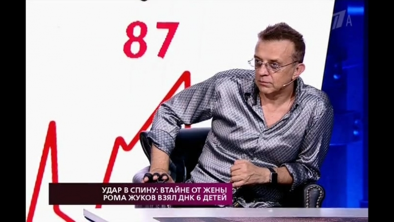 На самом деле. Удар в спину втайне от жены Рома Жуков взял ДНК шестерых детей (23.07.18)