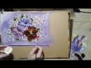 2 PAINTING TUTORIAL. Анютины глазки Draw with me