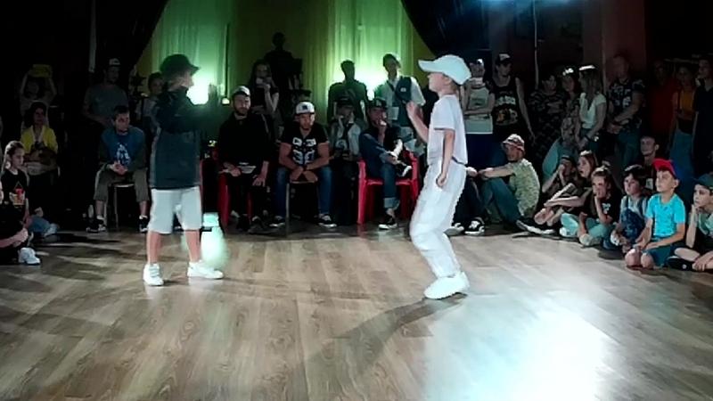 1-2 Hip-Hop Kids Аля Пуля vs Айфон Патрон
