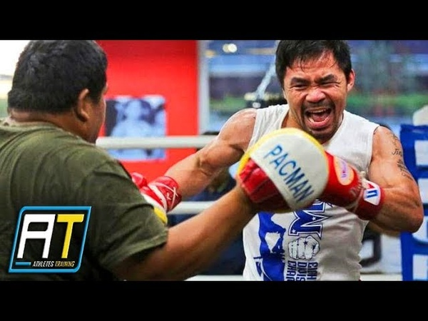 Manny Pacquiao Training For Lucas Matthysse Fight | Athletes Training