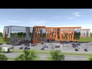 Бизнес-центр Макси в Вологде, открытие в конце 2019 года!