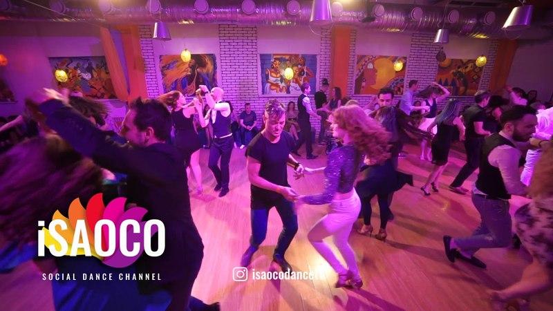 Fedor Nedotko and Mariya Fionova Salsa Dancing in Respublica Vosmera, Sunday 29.04.2018
