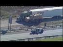 North Texas Big Rig Police Chase
