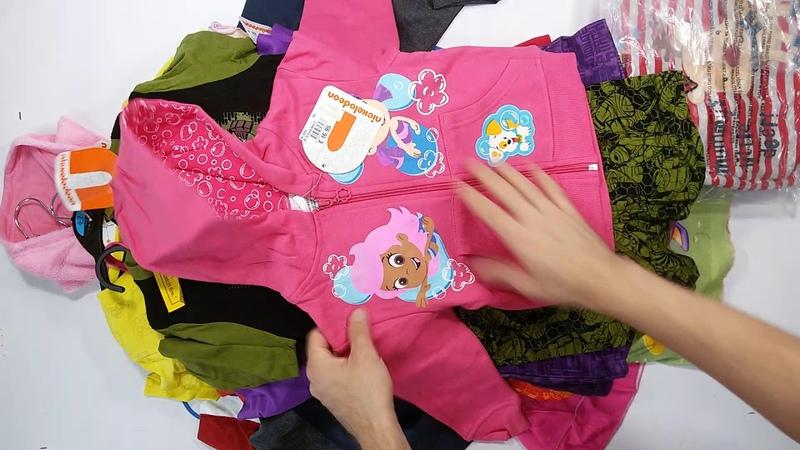 1396 Kids mix Stock 3пак - детский всесезонный мультибрендовый сток