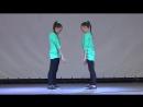 Танец 'Хватит учить - давай танцевать!' (hip-hop) - Соня и Ксюша Макиенко. Б.mp4