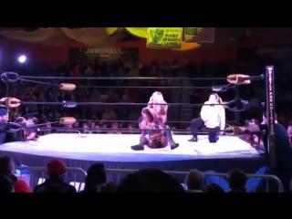Tenille Dashwood (WWE Emma) Vs Angelina Love (WRESTLEPRO 03/02/18)