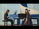 К Шаффрат 1709 1763 Соната для виолончели и клавесина до мажор
