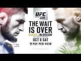 Khabib Nurmagomedov vs Conor McGregor Announcement - UFC 229