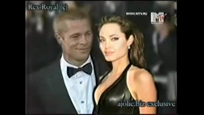 Брэд Питт и Анджелина Джоли История любви Начало пути YouTube