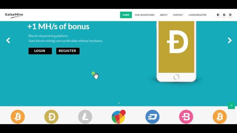 Limited Bonus Hash Power 1 MH/s For Mining Doge, Btc, Litecoin, Reddcoin, Dash, Bytecoin No Invest