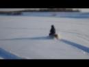 Мини снегоход