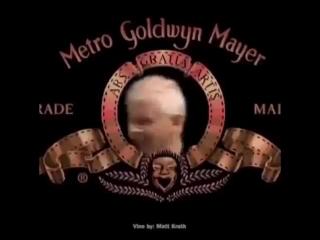 Настоящая заставка Metro-Goldwyn-Mayer