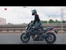 Танцы на мотоцикле прямо на дорогах Минска _ Черная пантера.mp4