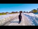 🏂КАТАНИЕ НА СНОУБОРДЕ🏂 экстрим игра про сноубординг обучение трюки спорт для детей