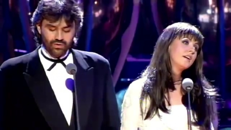 Sarah Brightman Andrea Bocelli - Time to Say Goodbye 1997 Video stereo wides.mp4