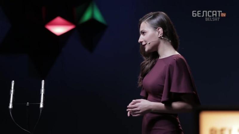 Спявачка свету Надзея Кучар у Belsat Music Live _ Singer of the World Nadine Kou