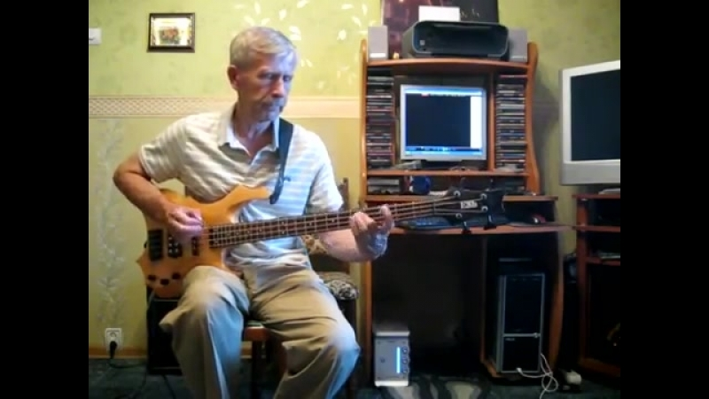 Веселые ребята Belladonna UFO бас bass cover