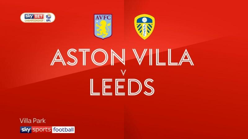 Обзор матча / «Астон Вилла» - «Лидс Юнайтед» 1:0 / Чемпионшип / 43-й тур