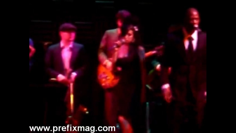 Amy Winehouse Back to Black Joes Pub NYC