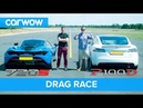 Tesla Model S P100D vs Mclaren 720S DRAG RACE, ROLLING RACE BRAKE TEST | Mat vs Shmee pt 4/4