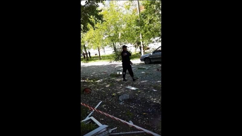 Взрыв в жилом доме на ЧМЗ