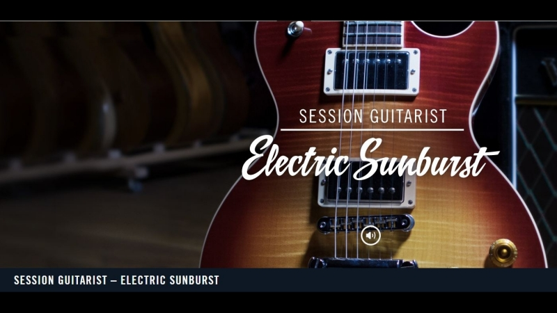 Session Guitarist Electric Sunburst NI